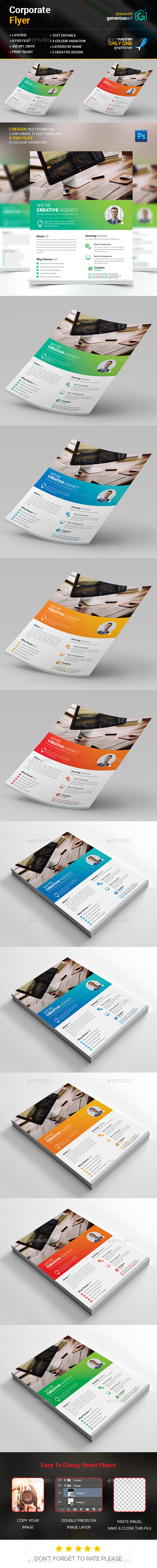 Agency Corporate Flyer - Corporate Flyers