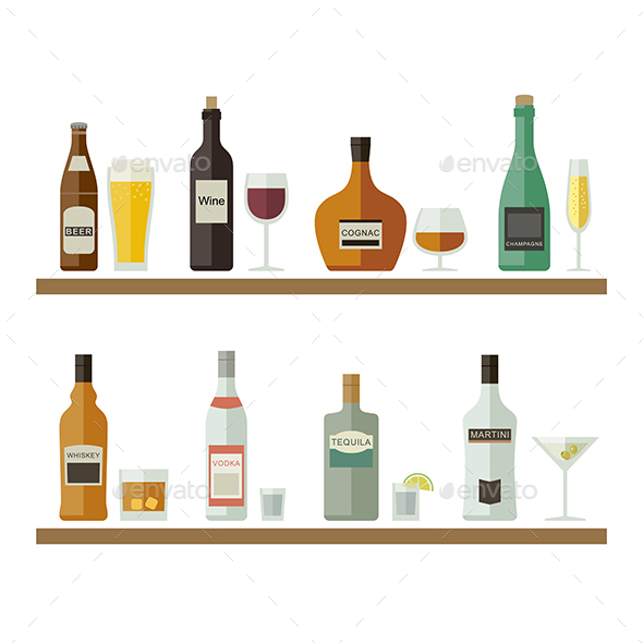 Beverages and Drinks - Man-made Objects Objects