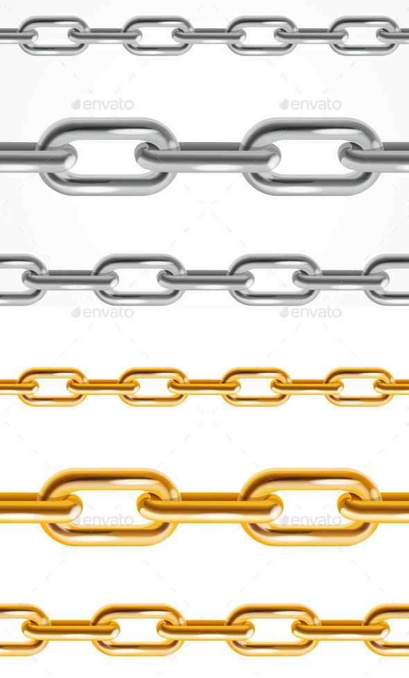 Chain Gold and Metal - Man-made Objects Objects