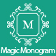 Magic Monogram Light Illustrator Script - GraphicRiver Item for Sale