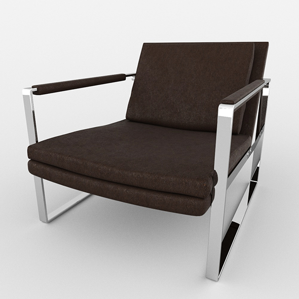 Charles Chair - 3DOcean Item for Sale