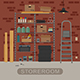 Storeroom - GraphicRiver Item for Sale