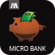 Micro Bank Logo - GraphicRiver Item for Sale
