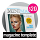 Minimal Magazine Template 30 Page - GraphicRiver Item for Sale
