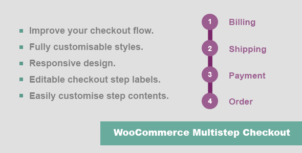 JC WooCommerce Multistep Checkout - CodeCanyon Item for Sale