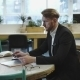 Multitasking Man Working In Modern Office - VideoHive Item for Sale
