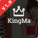 KingMa | Creative Business Onepage Drupal Theme Nulled