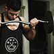 Muscular Man Lifting In Gym - VideoHive Item for Sale