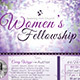 Women's Fellowship Flyer Template - GraphicRiver Item for Sale