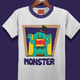 Monster Kids T-Shirt Design - GraphicRiver Item for Sale