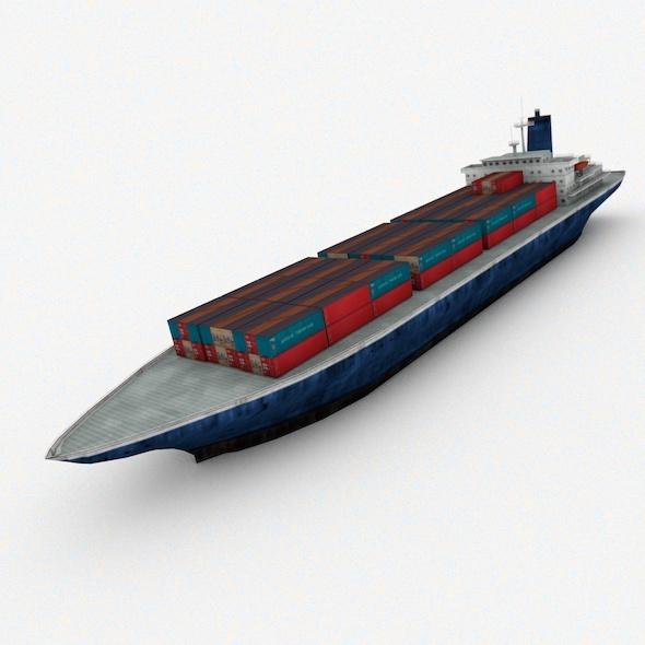 Cargp Ship - 3DOcean Item for Sale