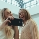 Girls Do The Selfie In Entertainment Shopping - VideoHive Item for Sale