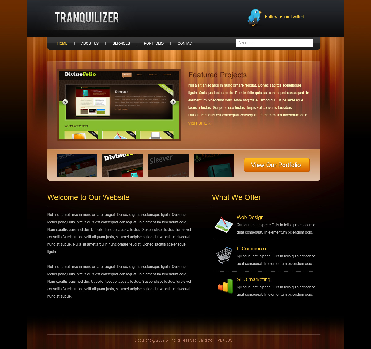Free Download Tranquilizer Nulled Latest Version