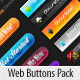 Delicious High Impact Web Buttons Pack & Styles - GraphicRiver Item for Sale