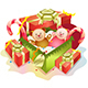 Gift Boxes and Teddy Bears - GraphicRiver Item for Sale