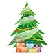 Christmas Tree with Gift Boxes - GraphicRiver Item for Sale