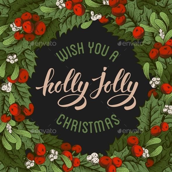 Vintage Christmas Card - Christmas Seasons/Holidays