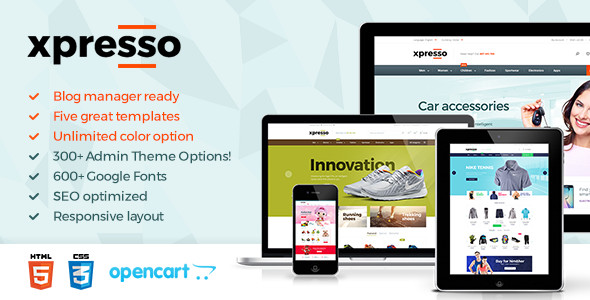 Xpresso - Responsive Multipurpose Opencart Theme - Shopping OpenCart