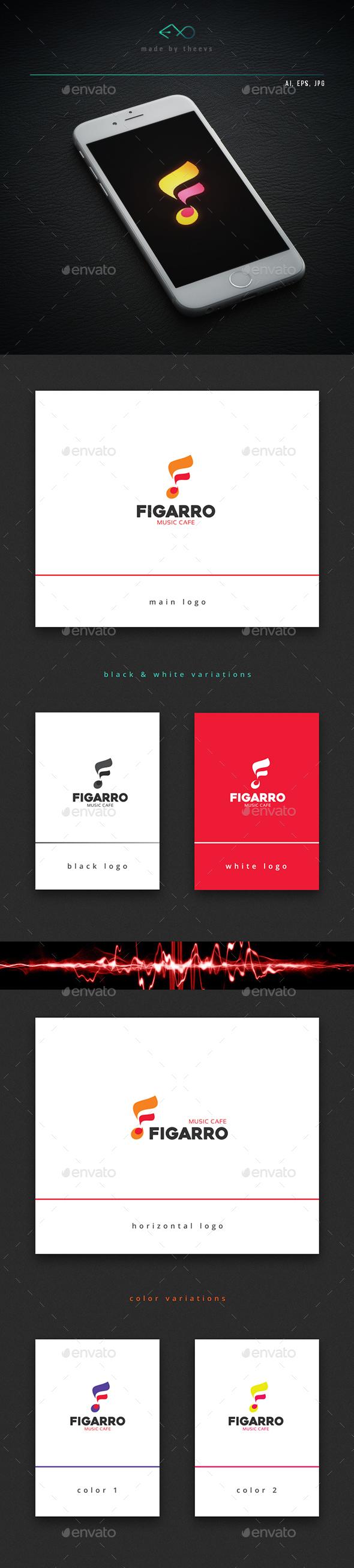 Figarro - Symbols Logo Templates