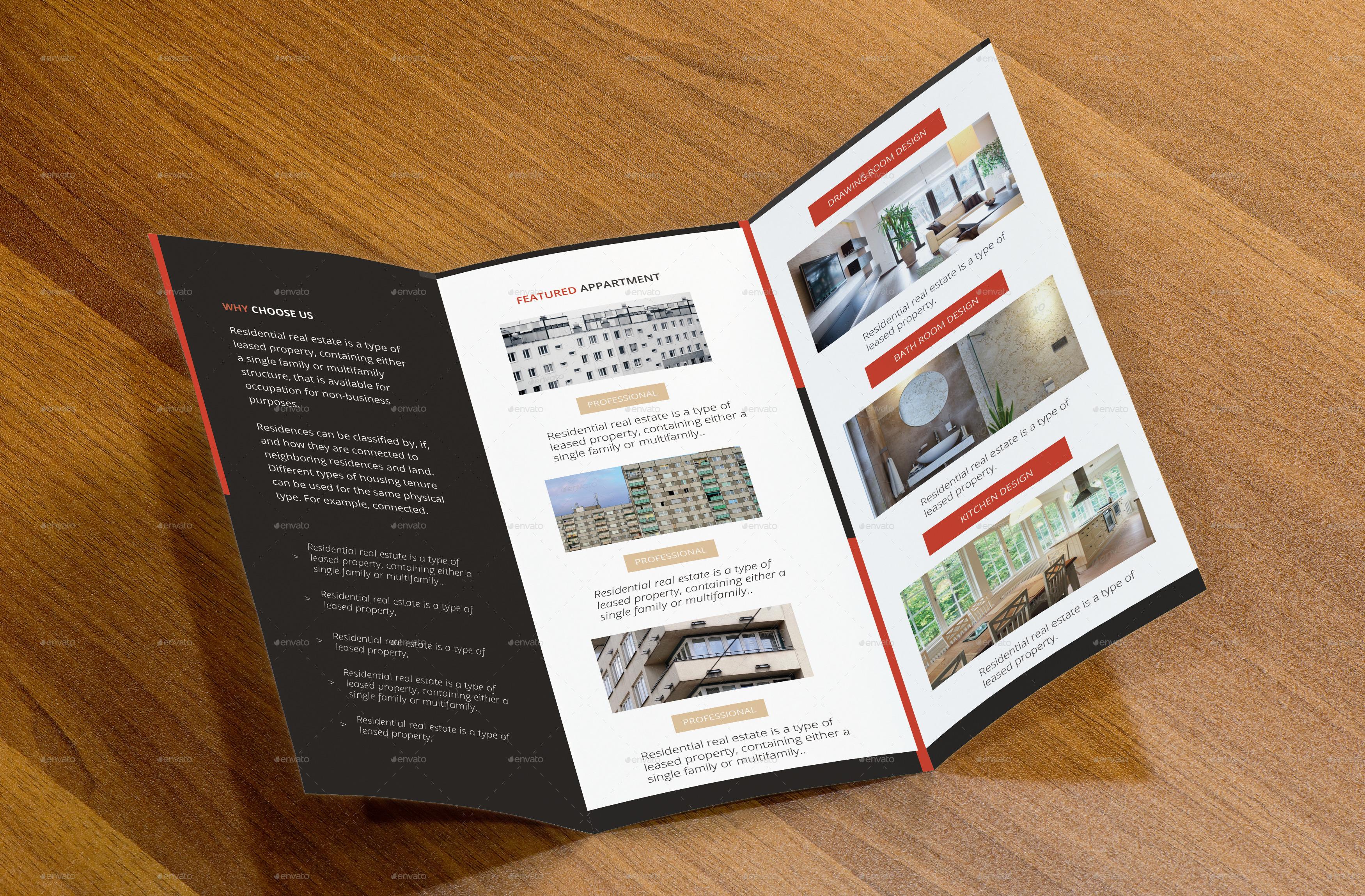 Real estate tri fold brochure by arnabkumar graphicriver for Real estate tri fold brochure template