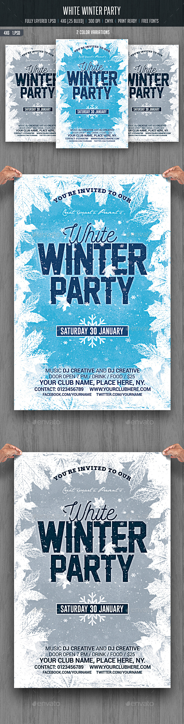 White Winter Party - Clubs & Parties Events
