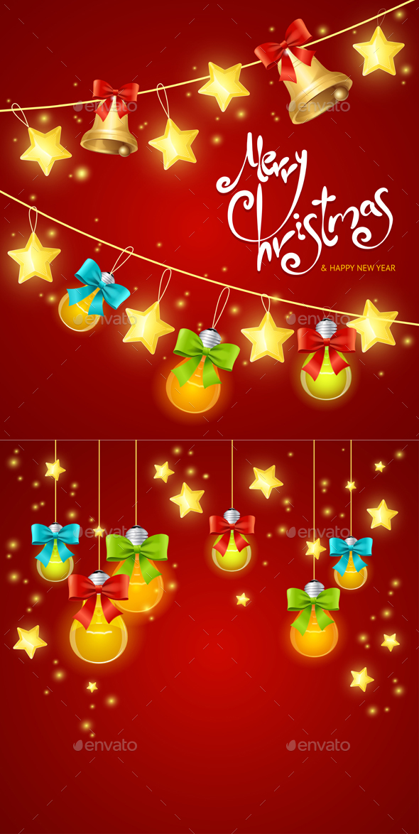 Xmass or Holiday Background. Vector - Seasons/Holidays Conceptual