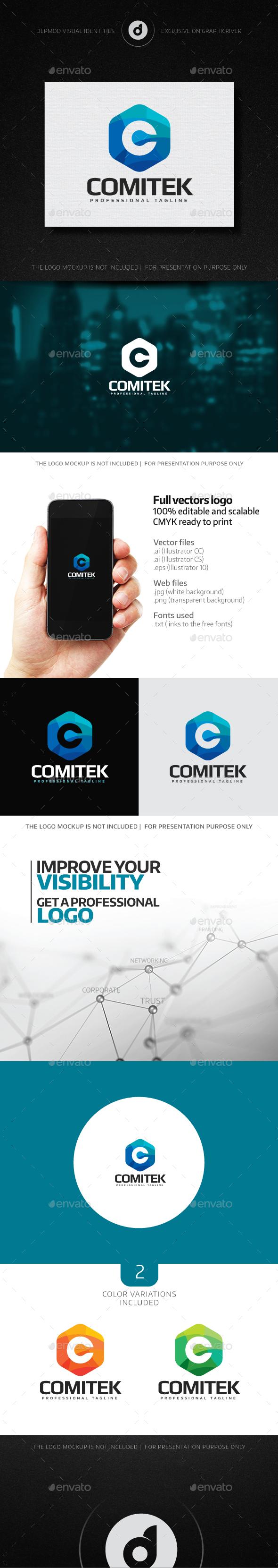 Comitek Logo - Letters Logo Templates
