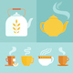 Tea Infographics Icons - GraphicRiver Item for Sale