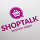 Shopping Talk Logo - GraphicRiver Item for Sale