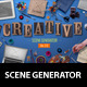 Creative Scene Generator - GraphicRiver Item for Sale