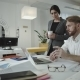 Two Employees Working In The Office - VideoHive Item for Sale