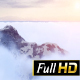 Snowy Mountain Peak Among Clouds - VideoHive Item for Sale