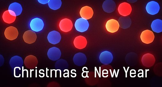Christmas New Year Abstract Backgrounds & VJ Loops
