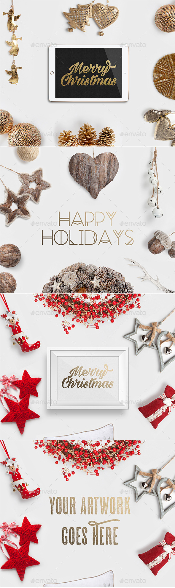 Christmas Photo Headers - Hero Images Graphics