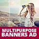 Multipurpose Banner Ad - GraphicRiver Item for Sale