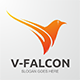 V-Falcon Logo - GraphicRiver Item for Sale