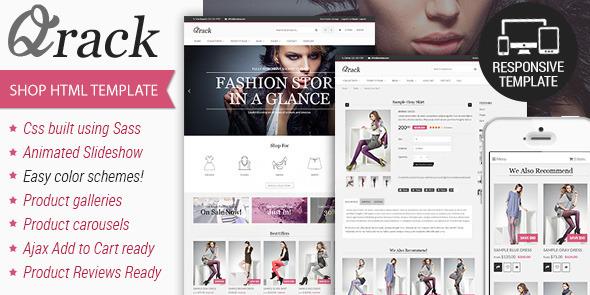 Qrack – Responsive Html Shop Template