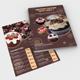 Cupcake Menu Flyer Template V2 - GraphicRiver Item for Sale