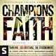 Champions of Faith Church Flyer