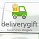 Delivery Gift Logo - GraphicRiver Item for Sale