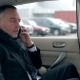 Mature Man Talking On The Phone In The Car - VideoHive Item for Sale