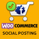 Woocommerce Social Posting