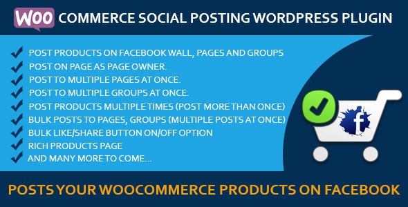 Woocommerce Social Posting - CodeCanyon Item for Sale