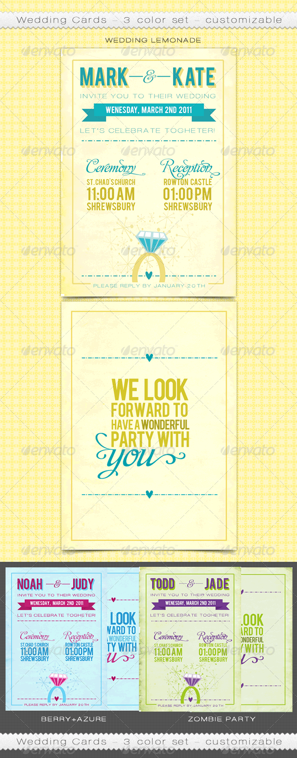 Customizable Wedding Cards - Weddings Cards & Invites