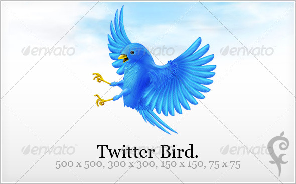 Twitter Bird - Web Icons