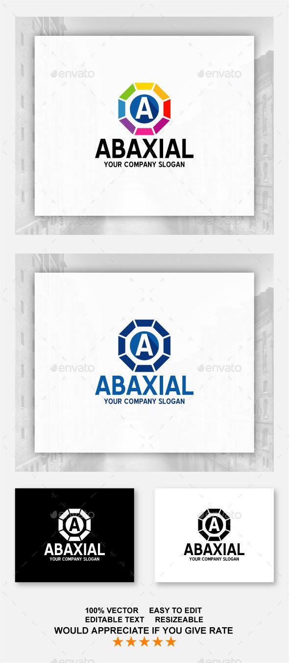 Abaxial Logo / A Letter - Letters Logo Templates