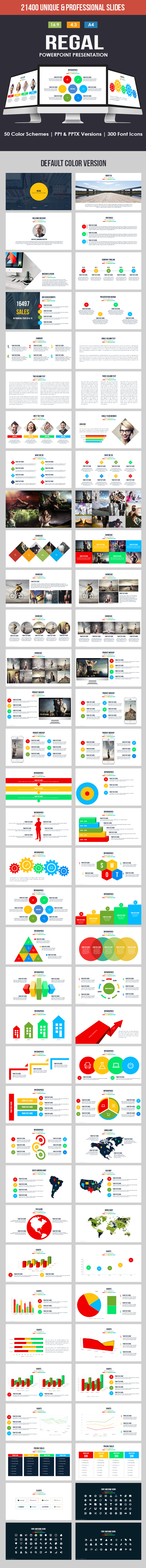 Regal PowerPoint Template - Business PowerPoint Templates