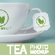 Tea Cup And Tea Label Branding Photo Mockup - GraphicRiver Item for Sale