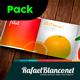 Mega Pack Tri-Fold Square Brochure Mock-up - GraphicRiver Item for Sale