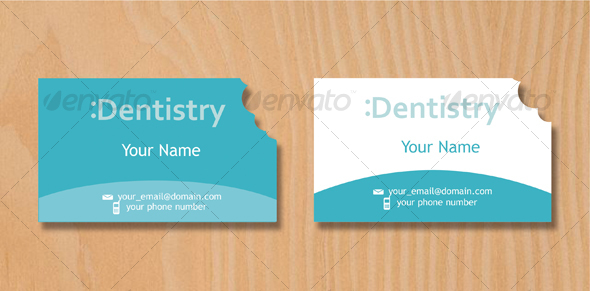 Dentist Business Card - Industry Specific Business Cards
